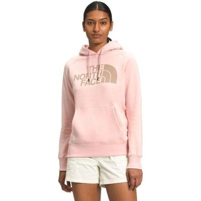 (取寄)ノースフェイス ハーフ ドーム プルオーバー フーディ - レディース The North Face Half Dome Pullover Hoodie - Women's Evening Sand Pink