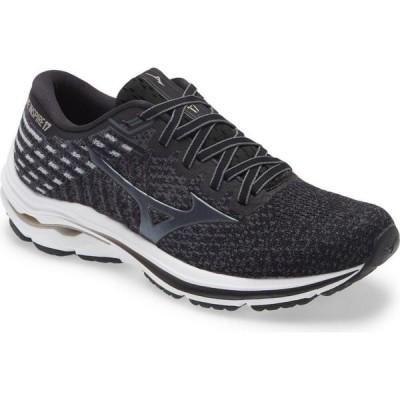 ミズノ MIZUNO レディース ランニング・ウォーキング シューズ・靴 Wave Inspire 17 Waveknit Running Shoe Black Platinum Gold
