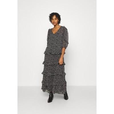 ジェイディーワイ レディース ワンピース トップス JDYPENELOPE DRESS - Maxi dress - black/grey black/grey