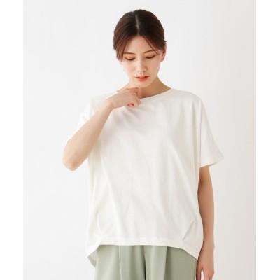 SHOO・LA・RUE(シューラルー) 【SHOO ICE】タックドルマンスリーブTシャツ