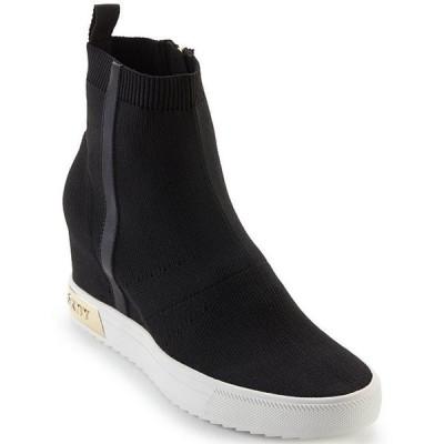 ダナ キャラン ニューヨーク レディース スニーカー シューズ Cali Logo Wedge Sneaker Booties