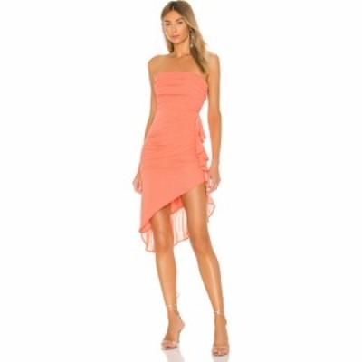 エヌビーディー NBD レディース ワンピース ミドル丈 ワンピース・ドレス Afton Midi Dress Coral