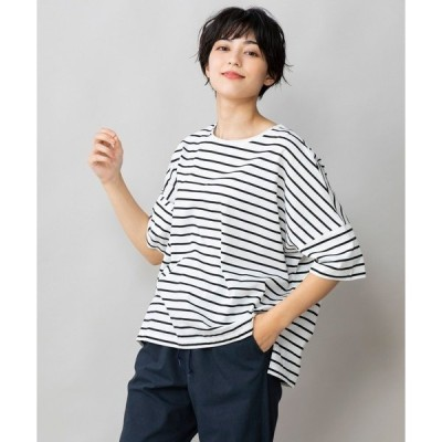 tシャツ Tシャツ 70/2コンパクトクールローレルジャージー ワイドTシャツ
