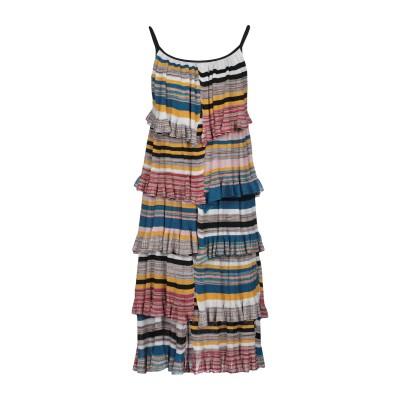 ジャッカ JUCCA ミニワンピース&ドレス ベージュ M レーヨン 85% / ポリエステル 15% ミニワンピース&ドレス