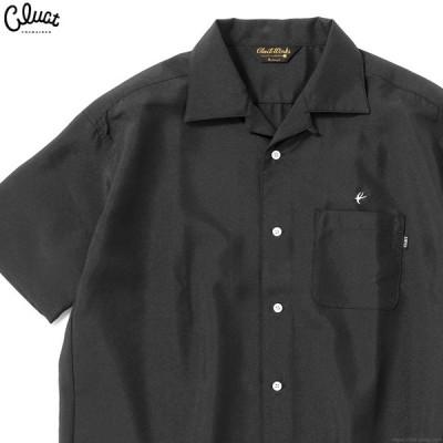 クラクト CLUCT CW-OPN S-SH (BLACK) #04046 メンズ トップス シャツ 半袖 ブラック