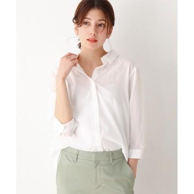 SHOO・LA・RUE / 薄手ガーゼ風前あきシャツ WOMEN トップス > シャツ/ブラウス