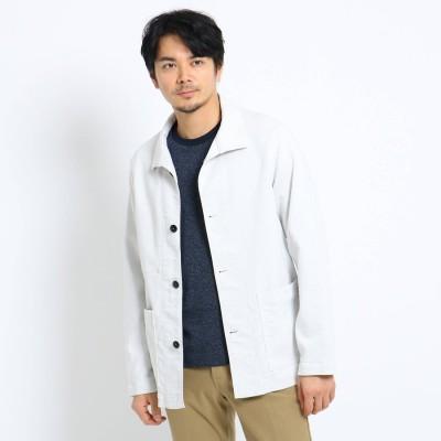 タケオ キクチ TAKEO KIKUCHI カバーオールジャケット (ホワイト)