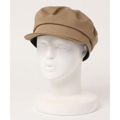 帽子 キャスケット コットンツイルマリンハット