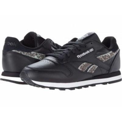 Reebok Lifestyle リーボック レディース 女性用 シューズ 靴 スニーカー 運動靴 Classic Leather Black/White/Silver【送料無料】