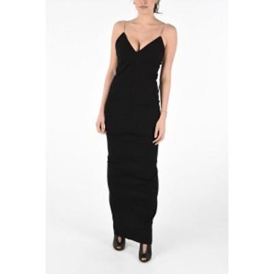 RICK OWENS/リック オウエンス Black レディース Sleeveless MAILLOT GOWN Dress with Back Split dk