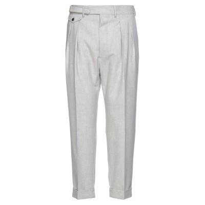 ラルディーニ LARDINI パンツ ライトグレー 54 ウール 100% パンツ