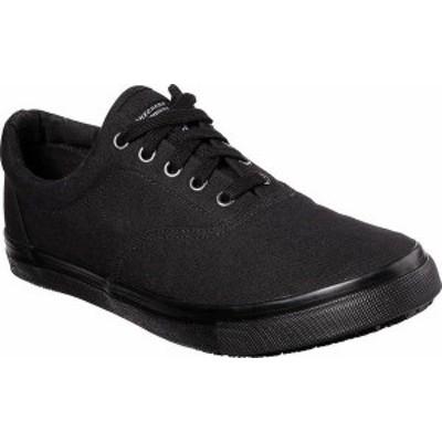 スケッチャーズ メンズ スニーカー シューズ Men's Skechers Work Relaxed Fit Sudler Mabscott SR Sneaker Black