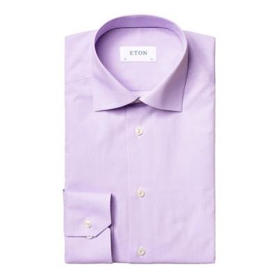 エトン メンズ シャツ トップス Men's Contemporary-Fit Dress Shirt