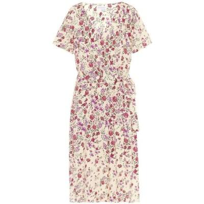 ベルベット グラハム&スペンサー Velvet レディース ワンピース ミドル丈 ワンピース・ドレス Rona floral-print midi dress Magnolia