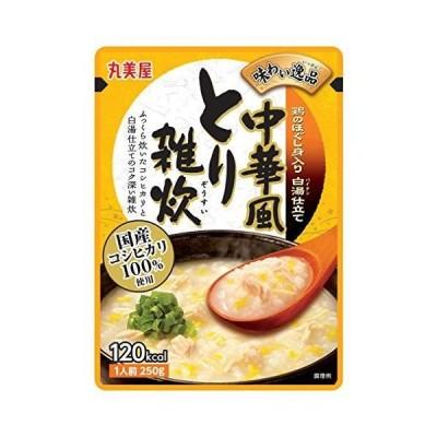丸美屋食品工業 味わい逸品 中華風とり雑炊 250g ×5個