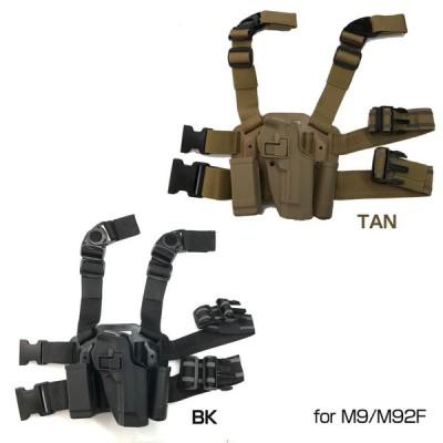 ブラックホーク セルパ type CQC レッグホルスターset for M9/M92F BK TAN