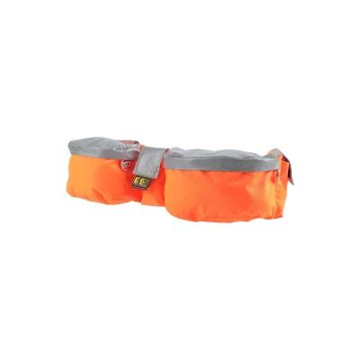 GCDS バックパック&ヒップバッグ オレンジ ポリエステル 82% / ガラス 14% / アクリル 4% バックパック&ヒップバッグ