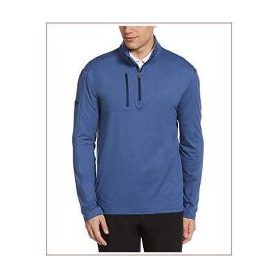 新品Callaway Lightweight Long Sleeve 1/4 Zip Golf Shirt, Coastal Fjord, X Large