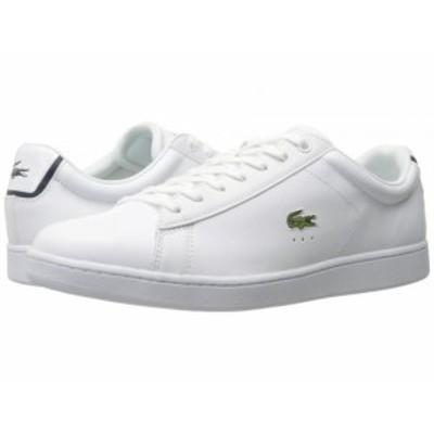 Lacoste ラコステ メンズ 男性用 シューズ 靴 スニーカー 運動靴 Carnaby EVO BL 1 White【送料無料】