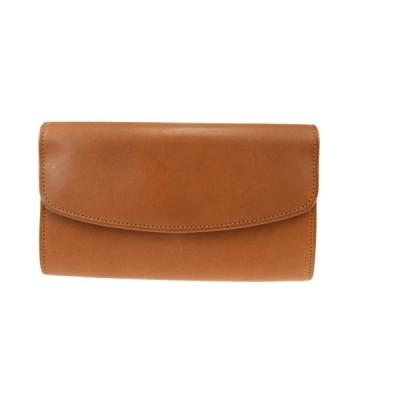 中古 コーチ レザー 長財布(二つ折り) ブラウン 01GA405