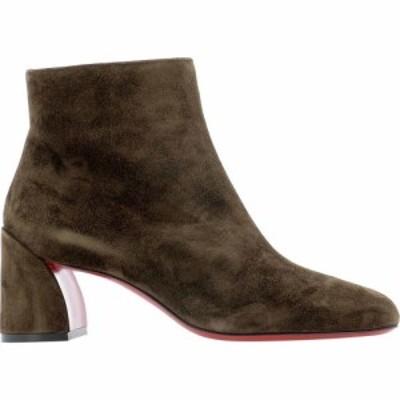 クリスチャン ルブタン Christian Louboutin レディース ブーツ ショートブーツ シューズ・靴 Turela Ankle Boots Brown
