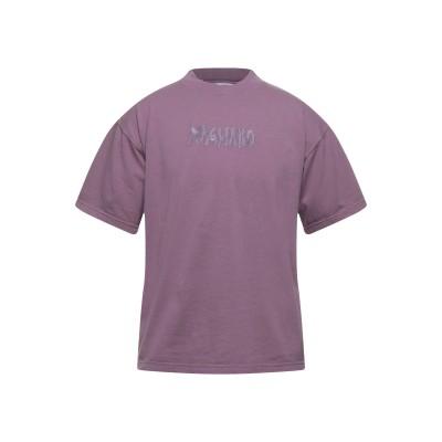 MAGLIANO T シャツ ライトパープル S コットン 100% T シャツ