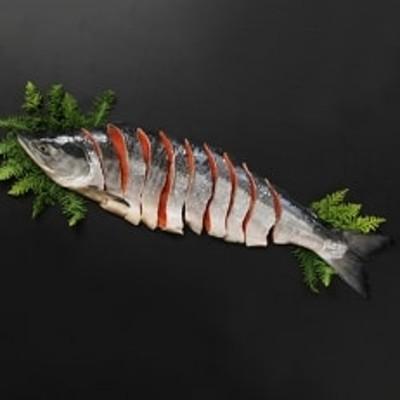 【ミシン目入り真空】 紅鮭 半身姿切り身