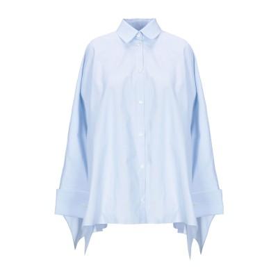 メゾン マルジェラ MAISON MARGIELA シャツ スカイブルー 36 コットン 100% シャツ