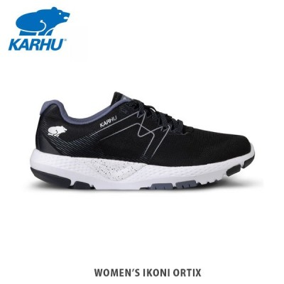 KARHU カルフ イコニOrtix ジェットブラック/フォークストーングレー レディース スニーカー ランニングシューズ  KH200290
