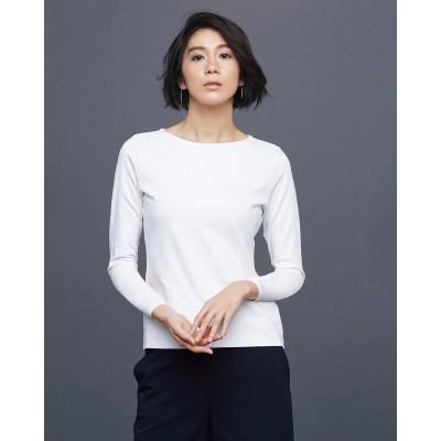 ドゥクラッセTシャツ・浅ボートネック長袖/60cm丈