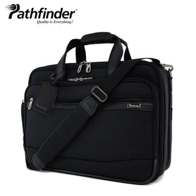 パスファインダー ブリーフケース PF6805B ブラック 1年保証 Pathfinder  [PO10]