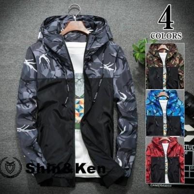 メンズ ジャケット ブルゾン ナイロンジャケット メンズ コーチジャケット メンズ ジャケット リアルコンテンツ ストリート系 ファッション 2018