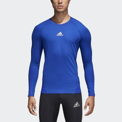 adidas (アディダス) ALPHASKIN TEAM ロングスリーブシャツ XL~ BLU メンズ EVN55 CW9488