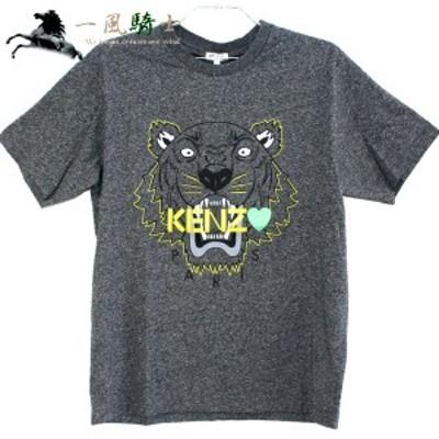 KENZO Tシャツ タイガー コットン100% グレー 5TS031 表記サイズ:XS 未使用 366084