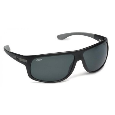 サーフィン Hobie Segundo-48GGY Polarized Rectangular Sunglasses,Satin Black,58 mm