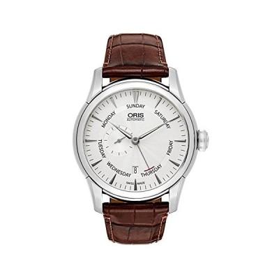Oris Artelier小さな2番目ポインター、日付腕時計745?7666?40?51?LS