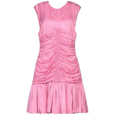 エムエスジーエム MSGM ミニワンピース&ドレス ピンク 42 レーヨン 100% / ポリエステル ミニワンピース&ドレス
