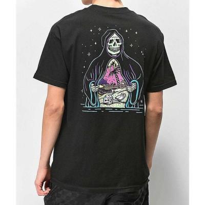 【残り1点!】【サイズ:S】ラーキングクラス LURKING CLASS メンズ トップス Tシャツ Lurking Class By Sketchy Tank Paradise Black T-Shirt