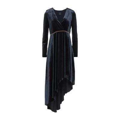 ピンコ PINKO 7分丈ワンピース・ドレス ダークブルー 38 ポリエステル 90% / ポリウレタン 10% 7分丈ワンピース・ドレス