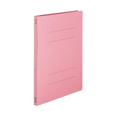 フラットファイルSE A4タテ 150枚収容 背幅18mm ピンク 1セット(50冊:10冊×5パック)