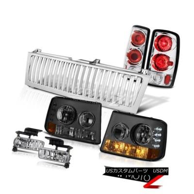ヘッドライト スモークバンパーヘッドランプブレーキテールライトユーロフォグクロームグリル00-06郊外 Smoke Bumper Headlamps