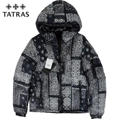 TATRAS タトラス メンズ リバーシブル ダウンジャケット AGRIPPA アグリッパ MTAT20A4731-D 01 BLACK ブラック【セール商品のため返品交換不可】