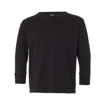 ベビー 衣類 トップス T-Shirts - Long Sleeve Toddler Long Sleeve Fine Jersey Tee グラフィックティー