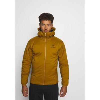 アークテリクス ジャケット&ブルゾン メンズ アウター ATOM HOODY MEN'S - Outdoor jacket - mustard yellow
