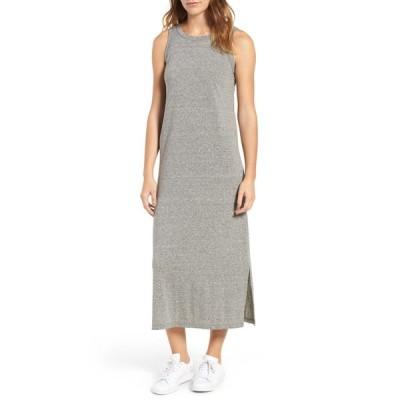 カレント エリオット ワンピース トップス レディース The Perfect Muscle Tee Dress Heather Grey