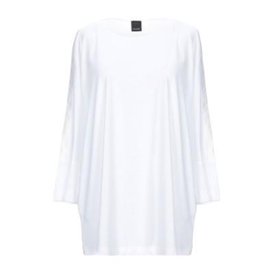ピンコ PINKO T シャツ ホワイト S テンセル 67% / コットン 33% T シャツ