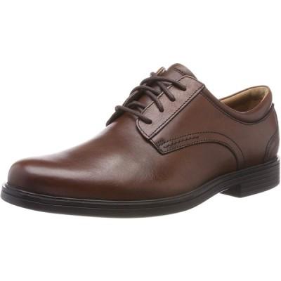[クラークス] ビジネスシューズ アンアルドリックレース 革靴 ダークタンレザー 24 cm