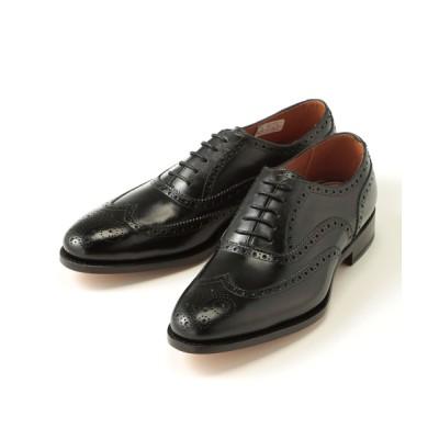 [靴]ユニオンインペリアル ウィングチップ 01U1983 黒 7.5(約25.5cm相当)