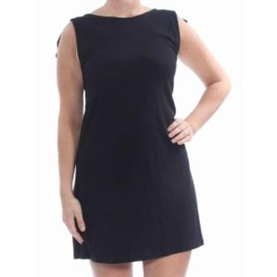 Sanctuary サンクチュアリ ファッション ドレス Sanctuary NEW Black Tie-Sleeve Womens Size XL Knit Shift Dress