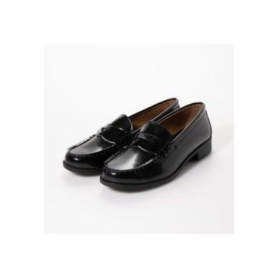 エンジェルフィット Angel fit レディース ローファー カジュアル ビジネスシューズ 靴 学生 人工皮革 防滑底 3E 幅広 EEE aw_2